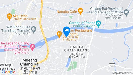 Le Meridien Chiang Rai Resort, Thailand Map