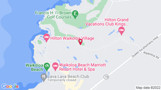 Kohala Suites by Hilton Grand Vacations Map