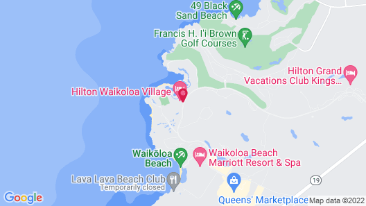 Hilton Waikoloa Village Map