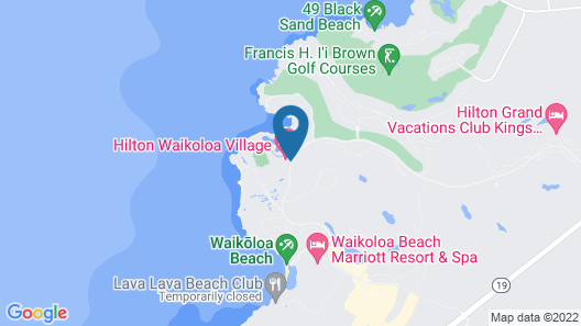 Hilton Waikoloa Village Map