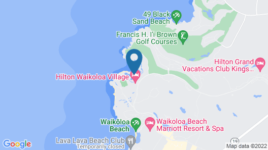 Ocean Tower by Hilton Grand Vacations Map