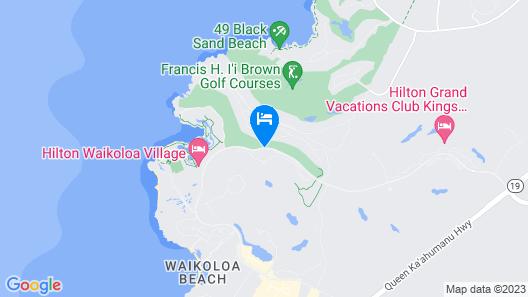 Castle Halii Kai at Waikoloa Map