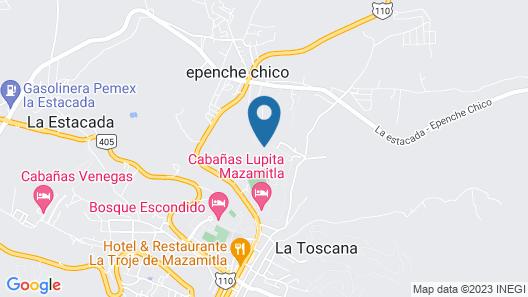 Cabañas Lomas Verdes Map