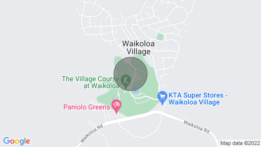 Lush Villa w/Shared Pools & Spa - Easy Golf Course Access at Waikoloa F-100 Map