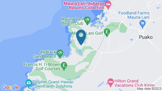 Mauna Lani Point, a Destination by Hyatt Residence Map