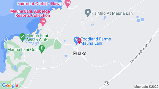 Villages at Mauna Lani Map