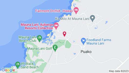 Mauna Lani Terrace Condominium Map