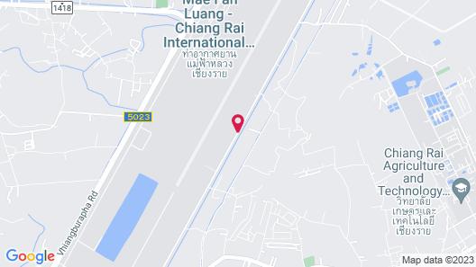 Rung Chiangrai Resort Map