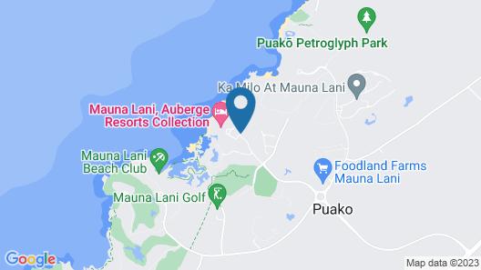 Mauna Lani, Auberge Resorts Collection Map