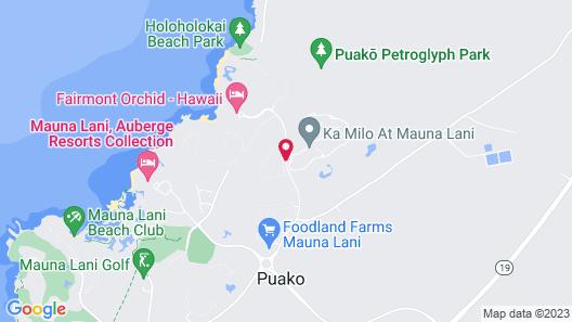 Fairways at Mauna Lani Map