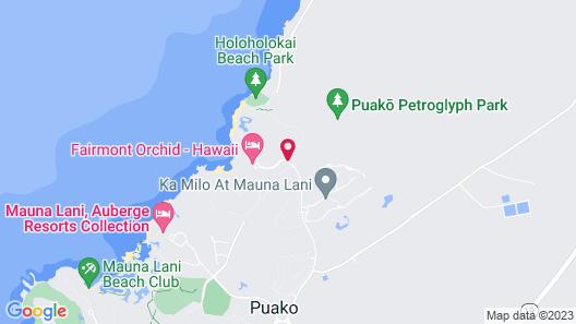 Fairmont Orchid Map