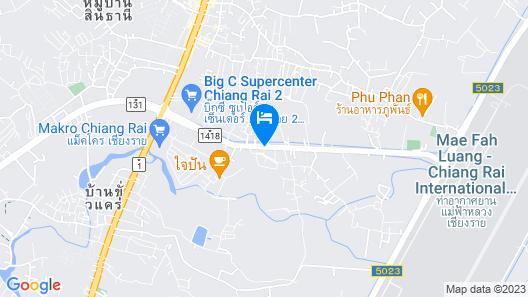Teak Garden Spa Resort Map