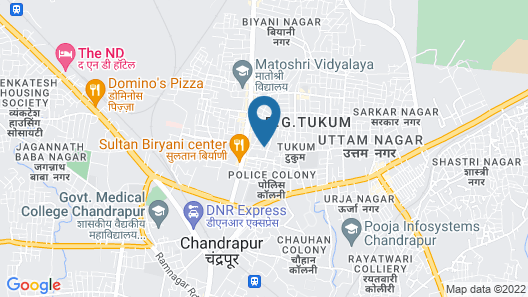 Jharana Jungle Lodge Map