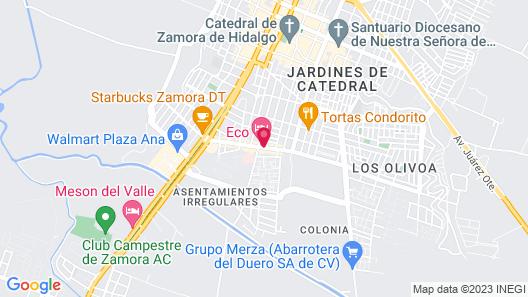Eco Express Hotel Zamora Map