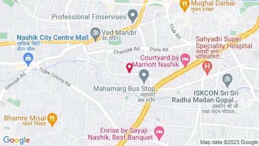 The Gateway Hotel Ambad Map