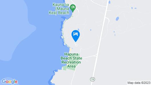 The Westin Hapuna Beach Resort Map