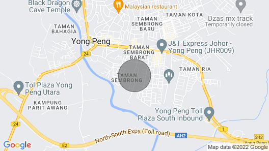 Ah Wei Homestay Semidetached house Yong Peng Map