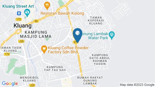 Hotel Setia Map