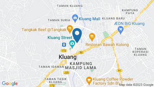 Hotel Anika Map