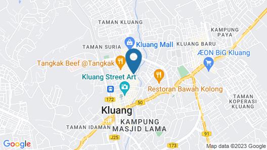Kluang Parade Hotel Map