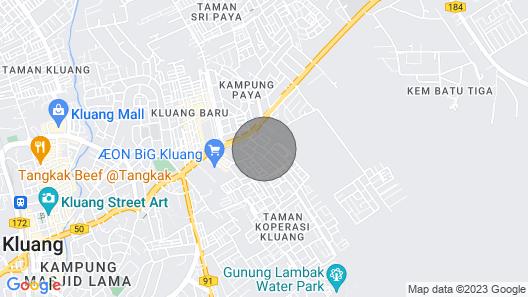 M@home Kluang, Johor, Malaysia Map