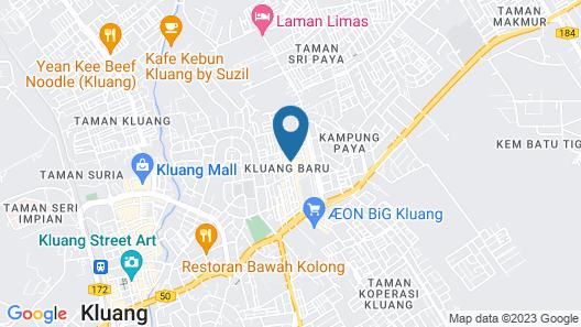 OYO 89786 Hotel Kluang Baru Map