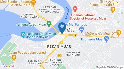 Muarar 99 Hotel Map