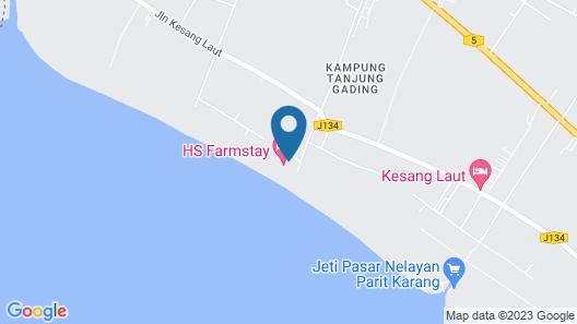 HS Farm Stay Map