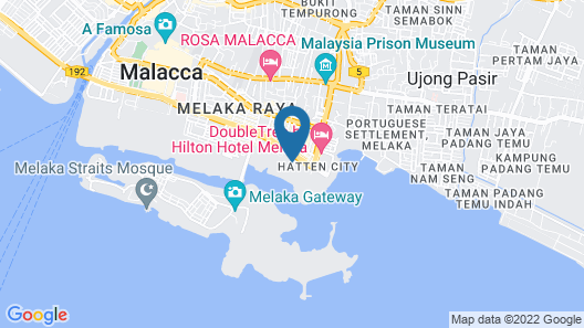 Imperio Residence Seafront Perfect Host Map