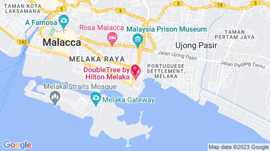 Doubletree by Hilton Melaka Map