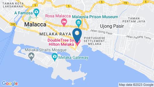 Hatten Place Melaka Map