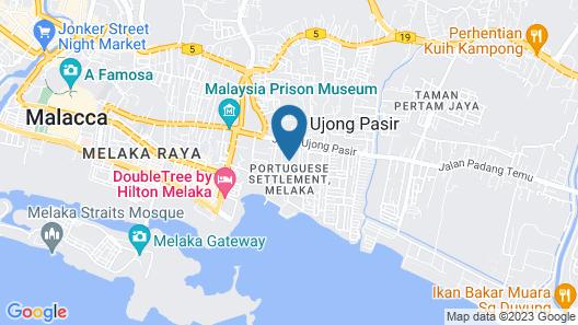 Temasek Hotel Map