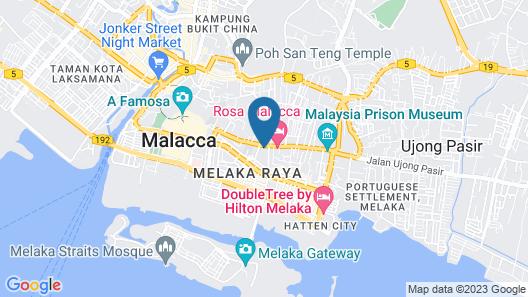 Hallmark Crown Hotel Map