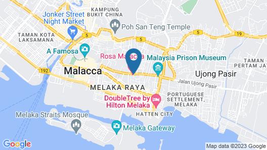 Rosa Malacca Map