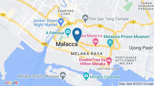 Imperial Heritage Melaka Map