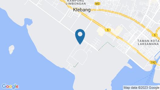 EM Homestay Melaka Map