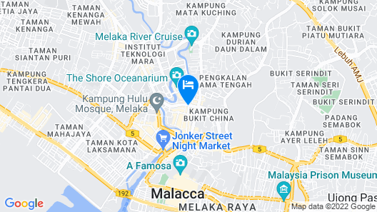The Majestic Malacca Map