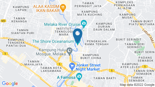 The Shore Hotel & Residences Map
