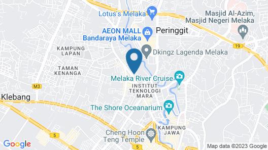 Parkland Residence Melaka Icon Stay Map
