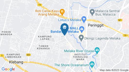 Dragon Hotel Map