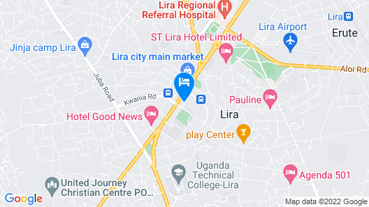 Lillian Towers Hotel Map