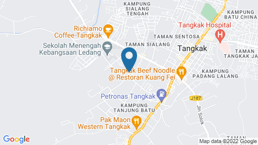 OYO 89764 Seri Lerek Inn Map