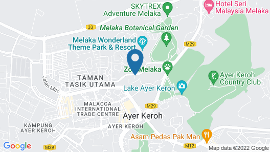 Hotel MetraSquare Map