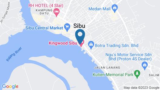 Kingwood Sibu Map