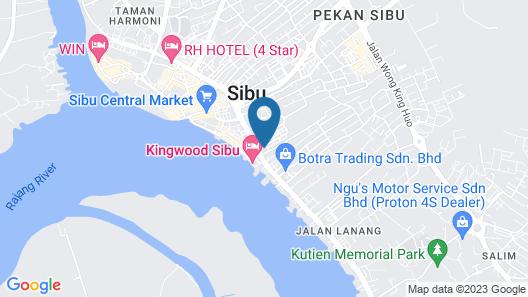 Kawan Hotel Map