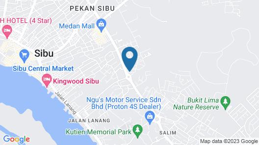 Otel Hotel Sibu Map