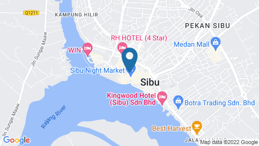 Lehdo Inn Map