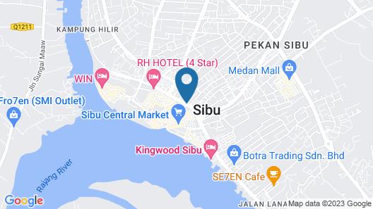 OYO 1173 Mandyrin Hotel Map