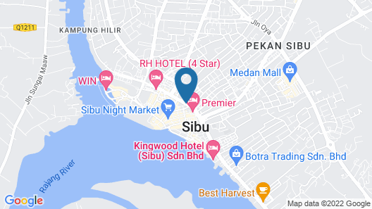SPOT ON 89706 To-day Hotel Map