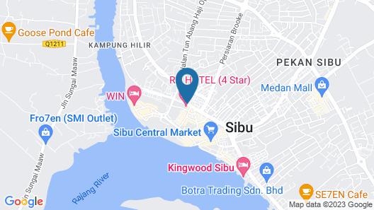 RH Hotel Map